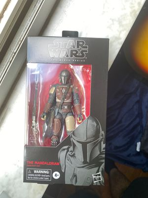 Star Wars Black Series Mandalorian. Used. box in excellent condition. for Sale in Miami, FL