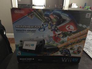 Nintendo Wii U Mario kart 8 Deluxe set for Sale in Framingham, MA
