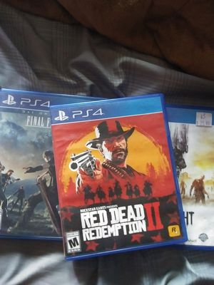 Ps4 game red dead redemption 2 for Sale in Ceres, CA