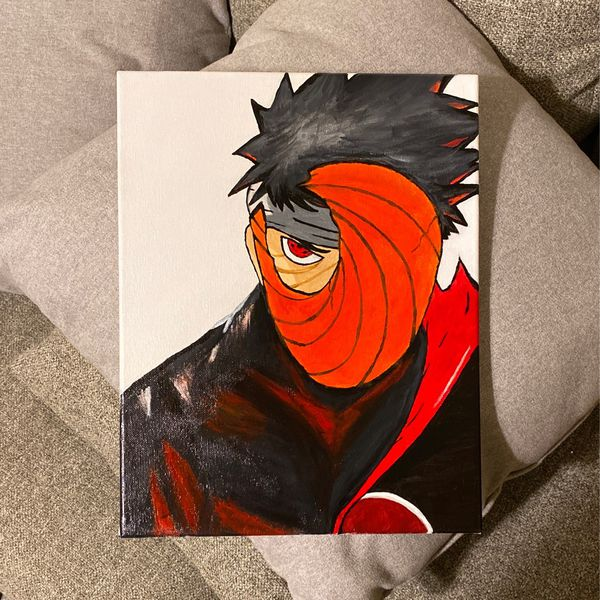 Painted Obito Uchiha from Naruto Shippuden Series