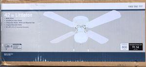 New 42 in Flush Mount Ceiling Fan w/Light for Sale in Reno, NV