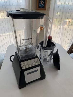 Blendtec Wildside blender jar and twister jar for Sale in Los Angeles, CA