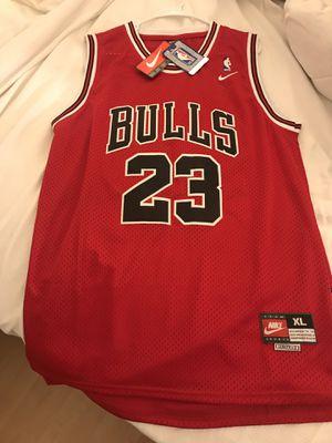 Jordan jersey bulls 23 for Sale in San Jose, CA