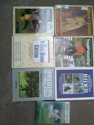 Seven Horse Books for Sale in Columbia, MO