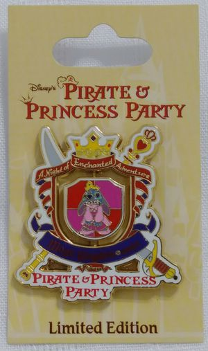 WDW DisneyLand LE Princess Pirate Lilo Stitch Spinner Pin 56467 for Sale in Homestead, FL