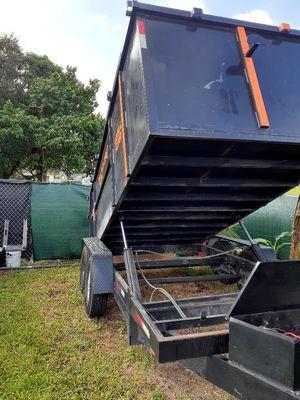 Ford 350. 99 todo nuevo y todo junto camioneta y tráiler 15,000 for Sale in Miami, FL