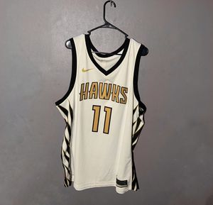 Nike Hawks Trae Young City White Swingman Jersey for Sale in Decatur, GA