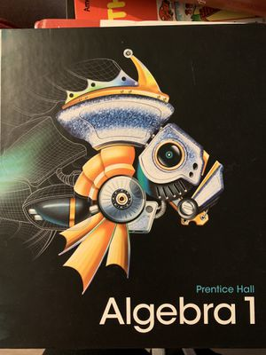 Algebra 1 Textbook for Sale in Montclair, CA