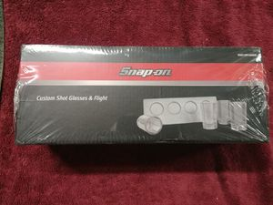 Snap-on Tools Shot Glass Flight Set for Sale in Romeoville, IL