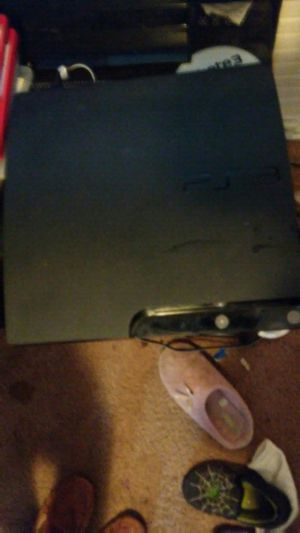 Ps3 for 40 and needs controllers for Sale in Durham, NC