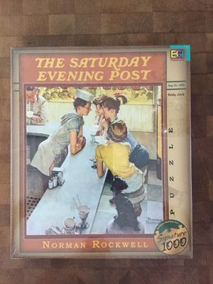 "The Saturday Evening Post - Norman Rockwell "" Soda Jerk"" Puzzle by Buffalo Games, Inc. for Sale in Miramar, FL"
