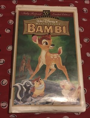 Bambi VHS for Sale in Chino, CA