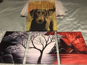 Black Lab and more paintings for Sale in Raleigh, NC