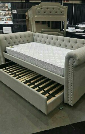 ☑ Special for Black Friday ‼ Ellie Twin Daybed with Trundle 32 for Sale in Jessup, MD