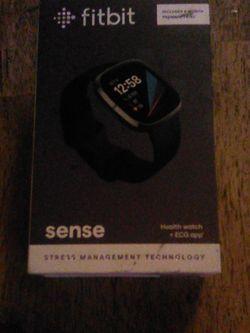 Fitbit Sense Smart Watch, Black for Sale in Yakima,  WA