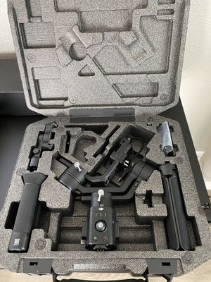 DJI Ronin SC with Dual Grip with box and all accessories. for Sale in Temecula, CA