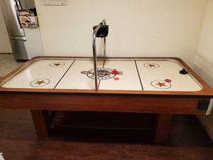 Classic Sport Full Size Air Hockey Table Works Great 8 Ft x 4 Ft for Sale in Lakewood, CA