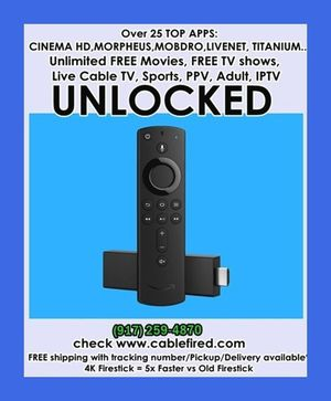 New fire TV stick 4k for Sale in New York, NY