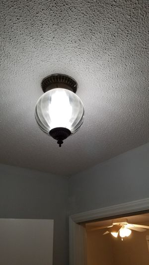 Vintage Flush Mount Ceiling Light. for Sale in High Point, NC