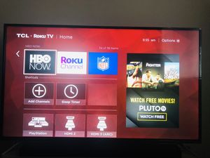Tcl 55 inches 4k tv for Sale in Bellevue, WA