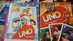 Uno card games both for $10 for Sale in Duarte, CA