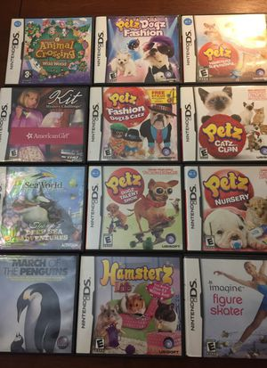 Lot of 12 kids Nintendo DS games for Sale in Tigard, OR