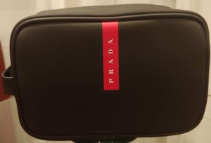 PRADA Men Travel Pouch/Toilerty Bag--New in Box for Sale in Mount Prospect, IL