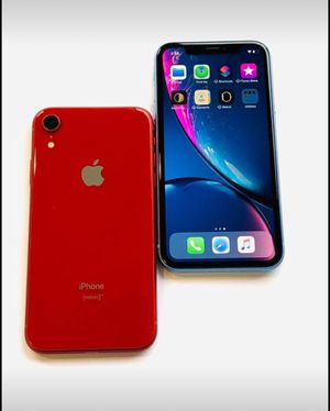 iPhone XR 64GB Unlocked Excellent Condition $445 each for Sale in Raleigh, NC
