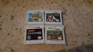 Nintendo 3DS (4) games for Sale in Lake Worth, FL