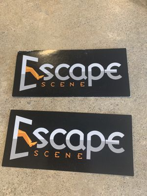 Escape scene tickets! for Sale in Stanwood, WA