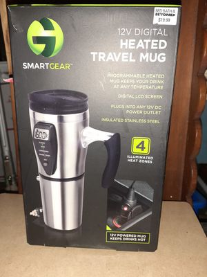 Heated Smart Travel Mug With Temperature Control Stainless for Sale in Webster, FL