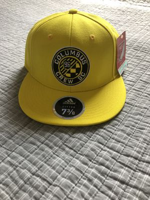 Columbus Crew MLS Adidas Yellow Fitted Hat Size 7 3/8 for Sale in Columbus, OH