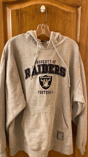 Hooded Raiders Sweatshirt-Large for Sale in North Las Vegas, NV