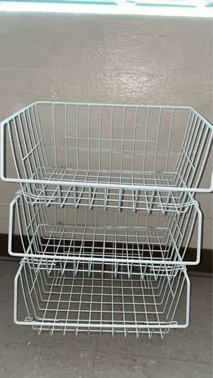 tall basket holder for Sale in Ceres, CA