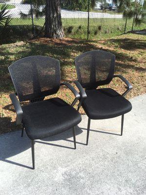 Both Black Chairs $25 for Sale in Bonita Springs, FL