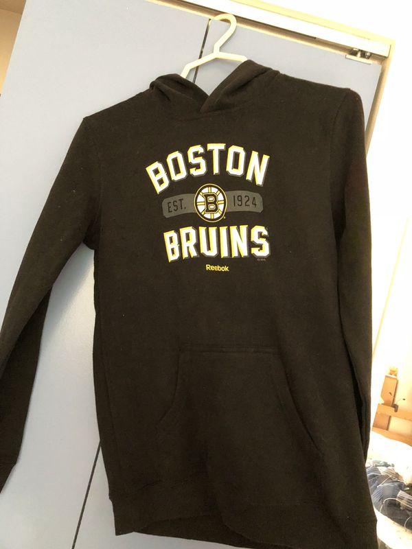 Boston Bruins Reebok boy's hoodie