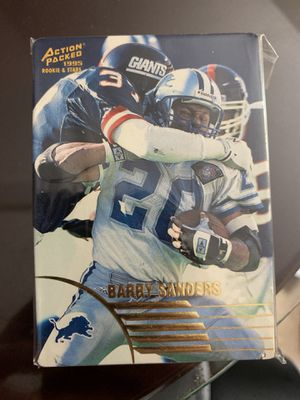 Action Packed 1995 Rookie football card for Sale in West Columbia, SC