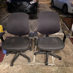 2 Office Chairs for Sale in Boca Raton, FL