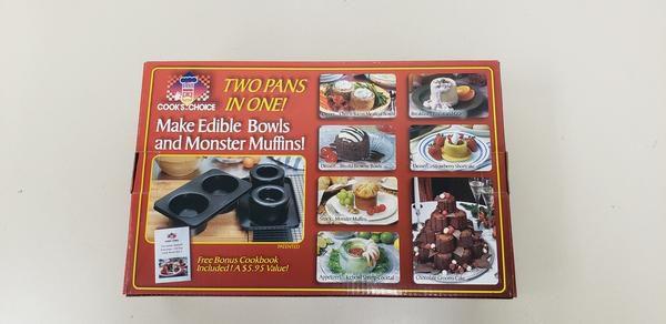 "Cook's Choice Edible Bowl Maker 5"" size"