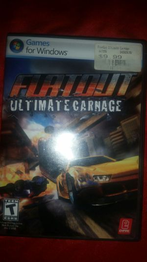 Flat out Ultimate Carnage PC DVD for Sale in Bessemer, AL