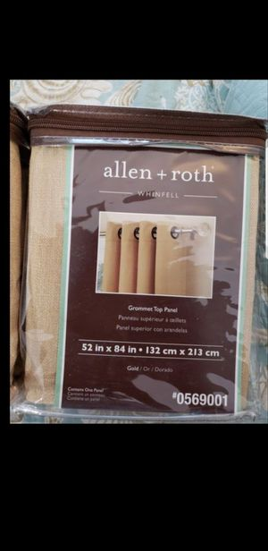 Allen + Roth Curtains for Sale in Panama City, FL