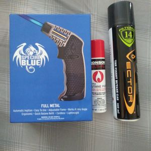Torch Lighter(for Dabbing And Dab Rigs) Comes Brand New W/ 2 Full Bottles Of Butane for Sale in Casselberry, FL