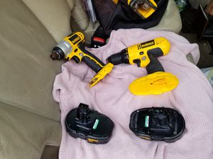 18v Dewalt impact driver and drill for Sale in Centennial, CO