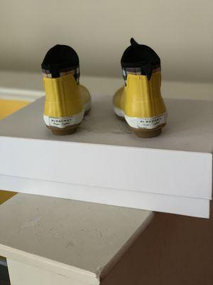 Kids Burberry rain boots size 11 for Sale in Washington, DC