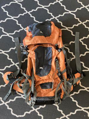 High Sierra orange outdoor backpacking 65L pack for Sale in Portland, OR