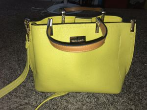 kate spade yellow satchel purse for Sale in Indianapolis, IN