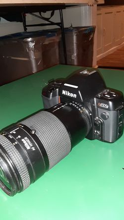 Nikon 8008s Film Camera with Lens for Sale in Stockton,  CA
