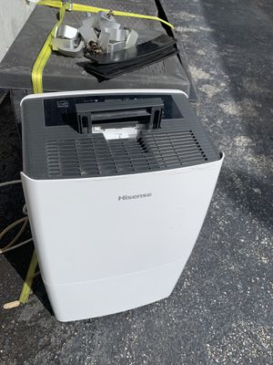 Hisense De-humidifier for Sale in Fort Lauderdale, FL
