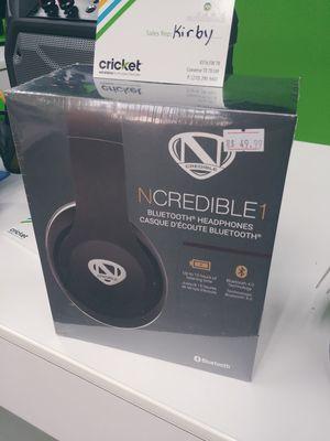NCREDIBLE Bluetooth headphones for Sale in San Antonio, TX