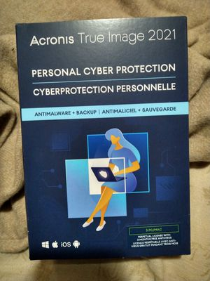 Acronis true image 2021 3pc for Sale in Riverside, CA